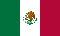 3'x5' Mexico Nylon Flag