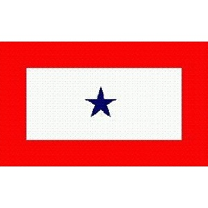 Value Flag 3' x 5' Printed Blue Star Son In Service Flag
