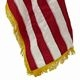 4' x 6' US American Embroidered Nylon Flag w/ Gold Fringe