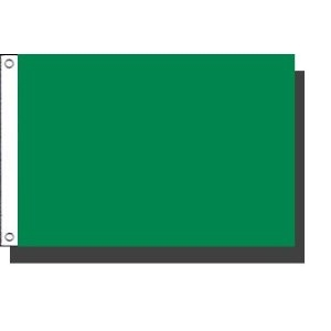 "Solid Standard Color Nylon Flags (12""x18"" 2x3 3x5 4x6 5x8)"